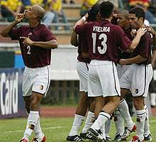 Colombia 0 - Venezuela 1