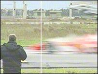 Schumacher pierde contra el Eurofighter