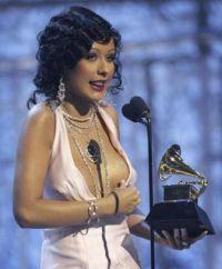 El escote de Christina Aguilera