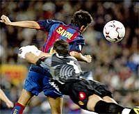 Barcelona 3 - Zaragoza 0